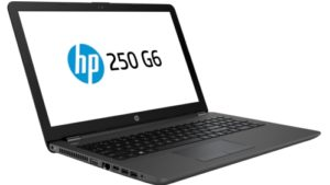 HP 250 G6 Intel Core i5-7200U 4GB DDR4 2133 1 DIMM 500 GB 5400rpm DVD+/-RW - Fixed NO 56K Modem Intel 3168 AC 1x1 BLUETOOTH 15.6 HD LCD Mobile Intel Graphics Media Accelerator Windows 10 Home Emerging Markets 64 (No downgrade to Win 7 supported) 1~1~0 - SEA